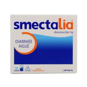 Smectalia 3 g poudre pour suspension buvable 18 sachets