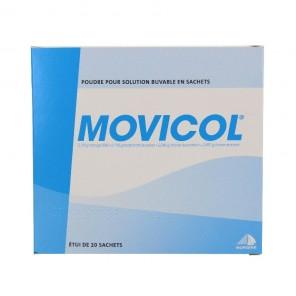 Movicol Poudre Pour Solution Buvable 20 Sachets