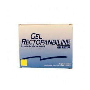 Rectopanbiline gel rectal 6 doses