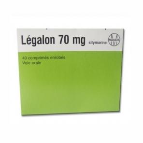 Légalon 70 mg 40 comprimés enrobés