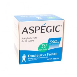Aspegic 500mg 30 sachets