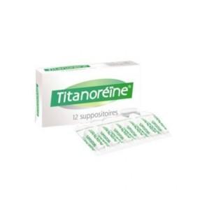 Titanoreine 12 suppositoires