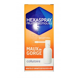 Hexaspray Fruit Exotique Collutoire Flacon 30G