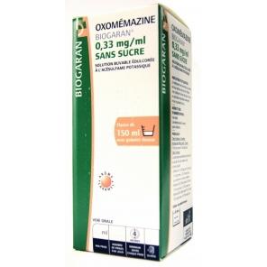 Oxomemazine Biogaran sans sucre 150ml