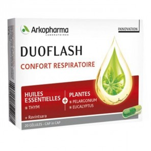 Arkopharma duoflash confort respiratoire 20 gélules