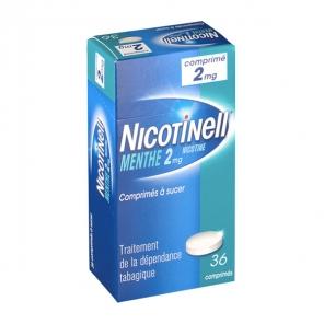 Nicotinell menthe 2mg 36 comprimés à sucer