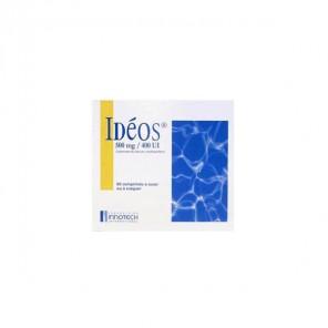 Ideos 500mg/400ui 60 comprimés
