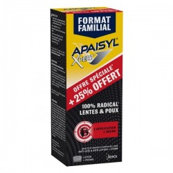 Apaisyl® Xpert - 200 ml + 50 ml + peigne