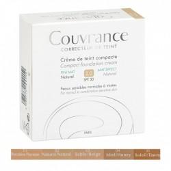 AVENE COUVRANCE CREME DE TEINT COMPACTE FINI MAT 9.5G