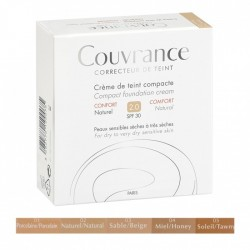 AVENE COUVRANCE CREME DE TEINT COMPACTE TEXTURE CONFORT SPF30 PEAUX SECHES ET SENSIBLES 9.5G