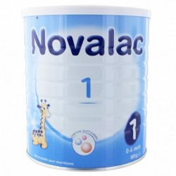 NOVALAC LAIT 1ER AGE DE 0 A 6 MOIS 800G