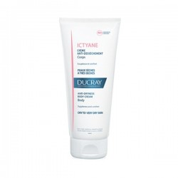 DUCRAY ICTYANE CREME ANTI DESSECHEMENT CORPS PEAUX SECHES A TRES SECHES 200ML