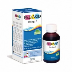 PEDIAKID OMEGA 3 SIROP ENFANT GOÛT FRAMBOISE 125ML