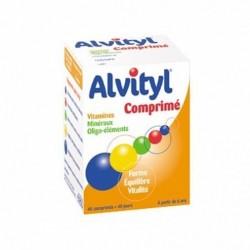 ALVITYL VITAMINES MINERAUX 40 COMPRIMES