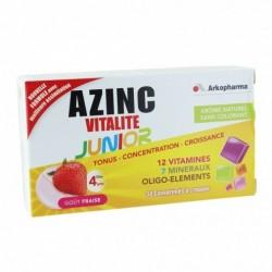 AZINC FORME ET VITALITÉ JUNIOR GOÛT FRAISE - 30 COMPRIMÉS