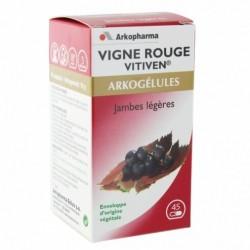 ARKOPHARMA ARKOGELULES VITIVEN VIGNE ROUGE GELULES X45