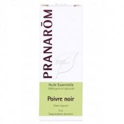 Pranarom – Huile essentielle poivre noir – 5 ml huile essentielle piper nigrum