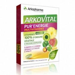 ARKOPHARMA ARKOVITAL PUR'ENERGIE MULTIVITAMINES 30 COMPRIMES