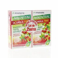 ARKOPHARMA ACEROLA 1000 LOT DE 2 X 30 COMPRIMES