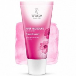 WELEDA ROSE MUSQUEE FLUIDE LISSANT PREMIERES RIDES 30ML