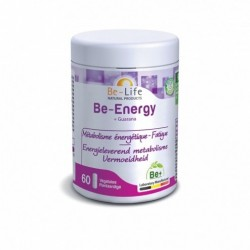 BE LIFE BE-ENERGY + GUARANA 60 GELULES