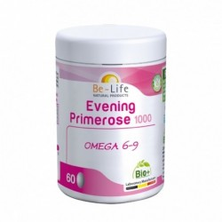 BE LIFE EVENING PRIMEROSE 1000 60 CAPSULES