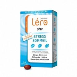 Activ' léro dnv stress et sommeil 30 capsules - mélatonine 1mg/capsule