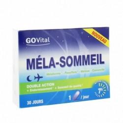 Complément alimentaire GOVITAL méla-sommeil - 30 gélules