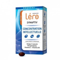 Activ' LERO synaptiv concentration intellectuelle 30 capsules