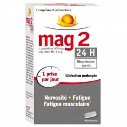 Mag2 24h nervosité, fatigue et fatigue musculaire - 45 comprimés
