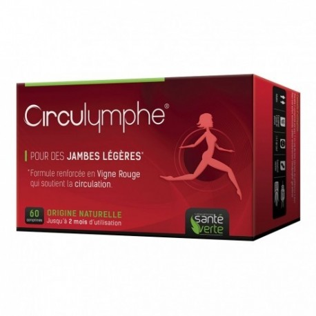 Circulymphe compléments alimentaires jambes légères - 60 comprimés