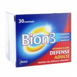 Vitalité bion3 défense adulte - 30 comprimés