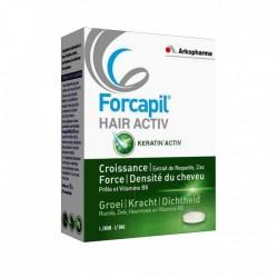FORCAPIL HAIR ACTIV PROGRAMME 1 MOIS 30 COMPRIMES