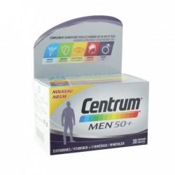 CENTRUM MEN 50+ 30 COMPRIMES VITAMINES ET MINERAUX