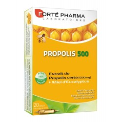 PROPOLIS 500 MG 20 AMPOULES DE 10ML