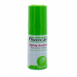 FLUOCARIL Spray buccal - haleine fraîche - 15ml