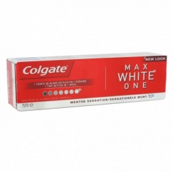 COLGATE DENTIFRICE MAX WHITE ONE CLASSIC 75ML