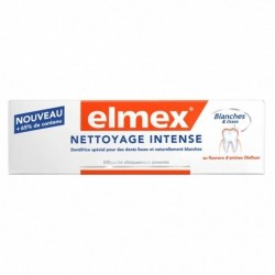 ELMEX DENTIFRICE PROTECTION INTENSE NETTOYAGE INTENSE 50ML