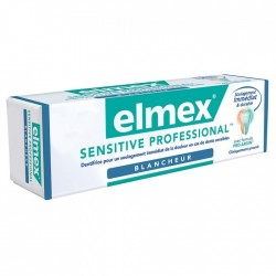 ELMEX SENSITIVE PROFESSIONAL DENTIFRICE BLANCHEUR 75ML