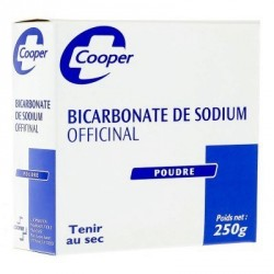 Cooper bicarbonate de sodium officinal poudre 250 g