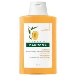 KLORANE - Cheveux secs shampooing traitant nutritif au beurre de mangue 200 ml