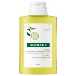 KLORANE - Shampooing à la pulpe de cédrat - 400 ml