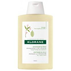 KLORANE - Cheveux fins shampooing volumateur au lait d'amande 400 ml