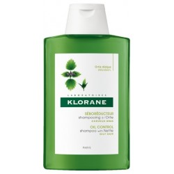 KLORANE - Cheveux gras shampooing séborégulateur aux extraits d'ortie 400 ml