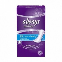 ALWAYS PROTEGE-LINGERIE SERVIETTE HYGIENIQUE NORMAL X30