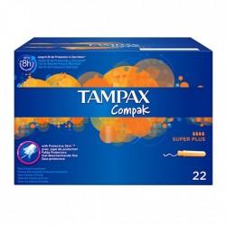 TAMPAX Tampons compak super plus - boîte de 22 tampons