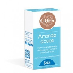 GIFRER Huile vierge d'amande douce - 56ml