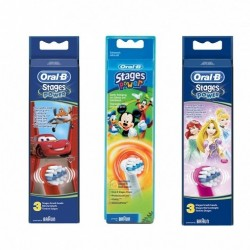 ORAL B STAGES POWER 3 BROSSETTES ENFANTS KIDS