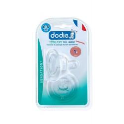 DODIE - Dodie 2 tétines plates - 1er age - débit 1