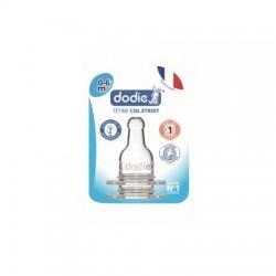 DODIE - Dodie 2 tétines en silicone- 3 vitesses - débit 1